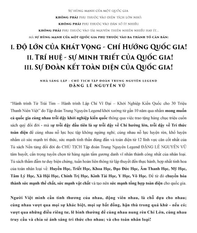 Hành Trình Từ Trái Tim - Hun đúc một thế hệ có Chí cả vĩ đại ảnh 2