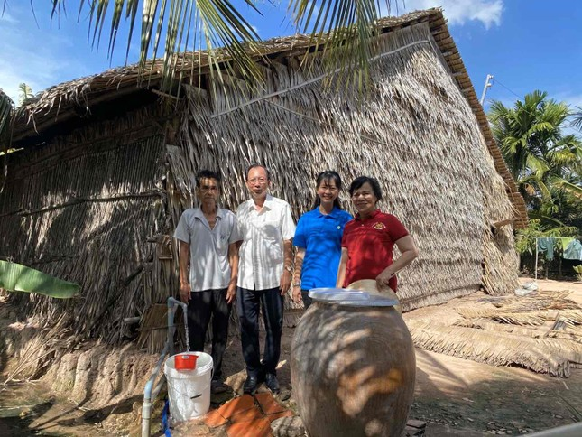 Niềm vui 'nước sạch học đường' trước thềm năm mới tại huyện Bình Đại – Bến Tre ảnh 4