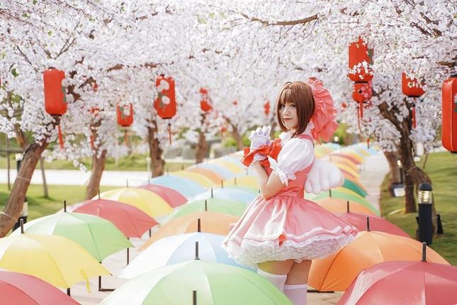 Màn diễu hành Cosplay siêu hoành tráng tại lễ hội hoa xuân xuyên tết ở Vinhomes ảnh 6