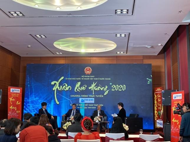 Công ty CP Tiền Phong tham gia thực hiện tọa đàm trực tuyến Xuân quê hương 2020 ảnh 1