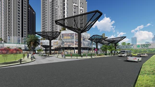 Shophouse kết nối trực tiếp ga Metro: đỉnh cao mới của đầu tư ảnh 2