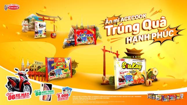 Acecook Việt Nam trao tặng 2,066 giải thưởng hấp dẫn hơn 3,2 tỷ đồng ảnh 1