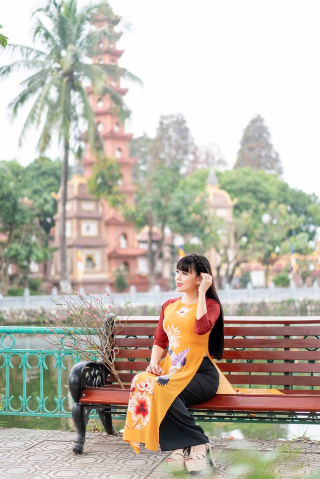 Bình yên sớm mùng 1 Tết cùng Hoa hậu Đại Dương doanh nhân quốc tế Phạm Bích Thủy ảnh 10