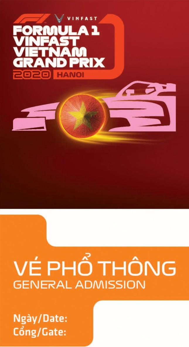 Lộ diện thiết kế vừa sang vừa chất của vé xem F1 tại Việt Nam ảnh 1