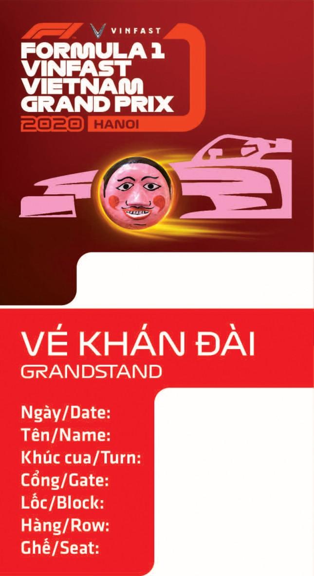 Lộ diện thiết kế vừa sang vừa chất của vé xem F1 tại Việt Nam ảnh 2