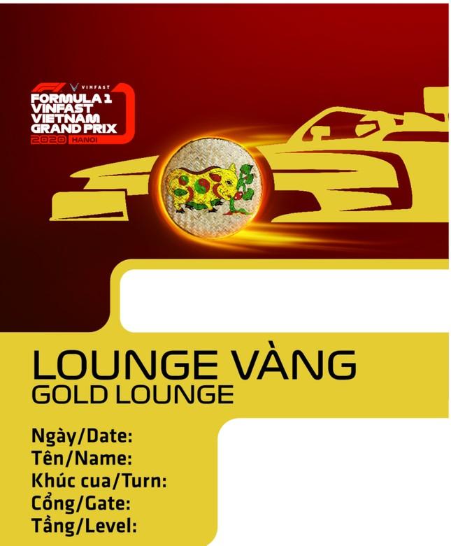 Lộ diện thiết kế vừa sang vừa chất của vé xem F1 tại Việt Nam ảnh 3