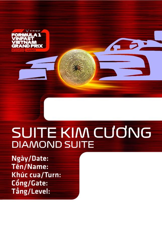 Lộ diện thiết kế vừa sang vừa chất của vé xem F1 tại Việt Nam ảnh 5