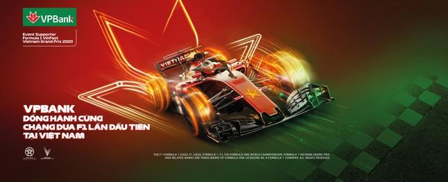 VPBank giảm 5% giá, tặng vé cho khách tham dự giải đua xe F1 Việt Nam Grand Prix ảnh 1