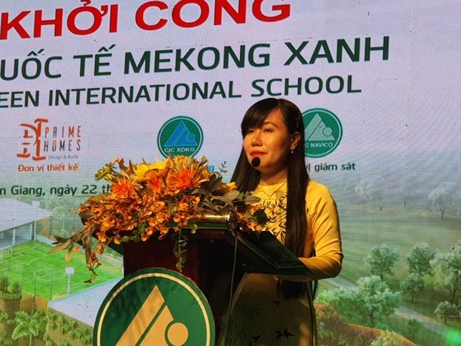Kiên Giang: Khởi công xây dựng trường học chuẩn quốc tế ảnh 1