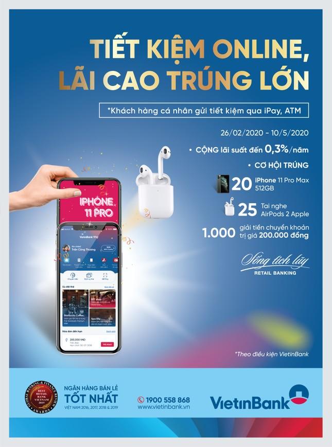 Gửi tiết kiệm online trúng iPhone 11 Pro Max ảnh 1