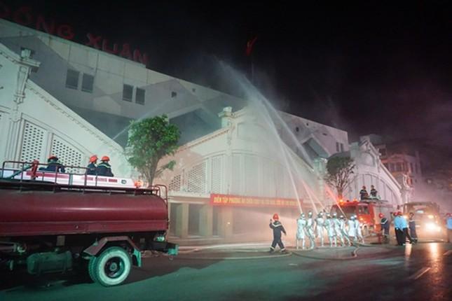 Nâng cao ý thức phòng cháy chữa cháy tại các chợ ảnh 1
