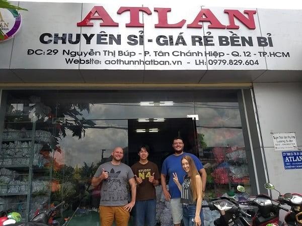 ATLAN - Xưởng Chuyên May Áo Thun Đồng Phục ảnh 1