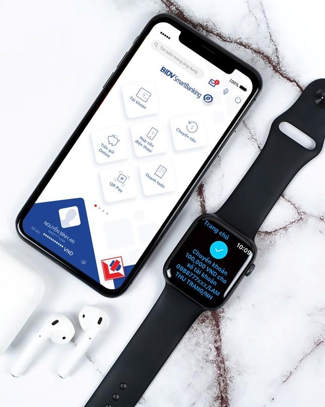 Trải nghiệm ngân hàng tương lai, ứng dụng BIDV trên Apple Watch ảnh 1