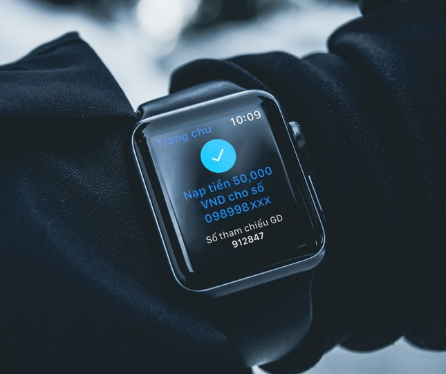 Trải nghiệm ngân hàng tương lai, ứng dụng BIDV trên Apple Watch ảnh 6