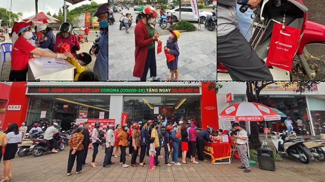 'Honda luôn vì bạn' – Hành trình trao tặng 200.000 túi đỏ kỳ diệu đẩy lùi COVID-19 ảnh 2