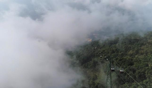 Ngừng đón khách, KDL Núi Bà Đen vẫn đang thay đổi từng ngày, đẹp mê mẩn ảnh 2