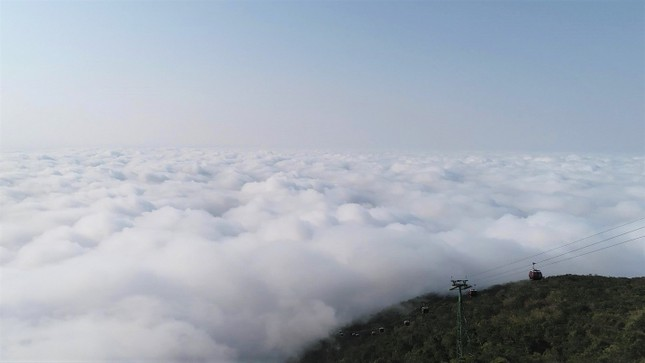 Ngừng đón khách, KDL Núi Bà Đen vẫn đang thay đổi từng ngày, đẹp mê mẩn ảnh 8