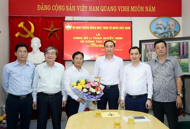 Nhà báo Lê Anh Đạt là Phó Tổng Biên tập Báo Đại Đoàn Kết ảnh 1