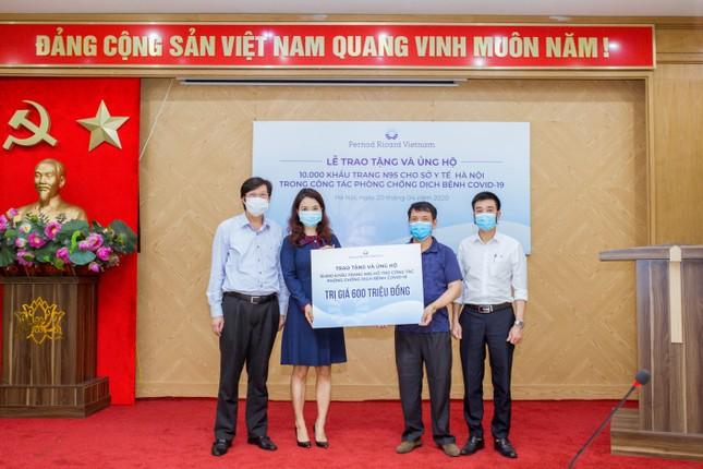 Công ty Pernod Ricard chung tay đồng hành cùng Việt Nam chống đại dịch COVID-19 ảnh 2