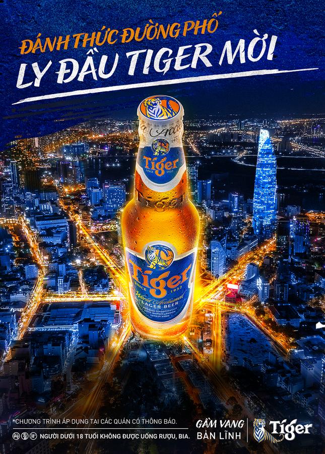 Cùng Tiger Beer bắt nhịp cuộc sống sôi động trở lại ảnh 1
