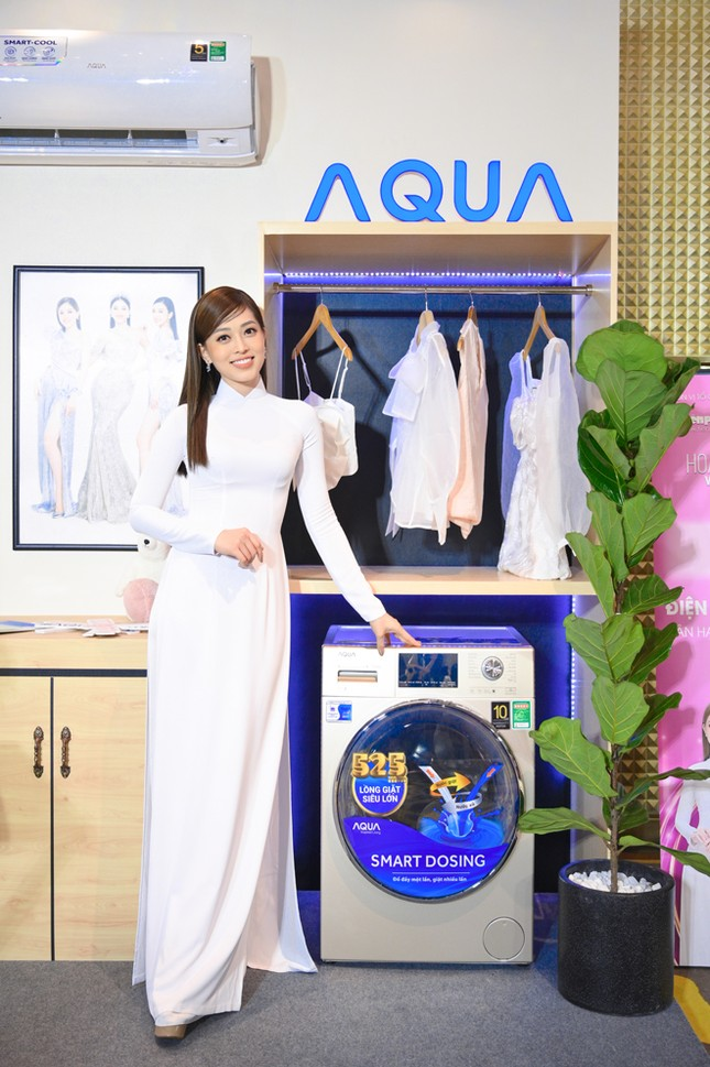 Aqua Việt Nam đồng hành cùng hoa hậu Việt Nam tôn vinh phụ nữ Việt ảnh 4
