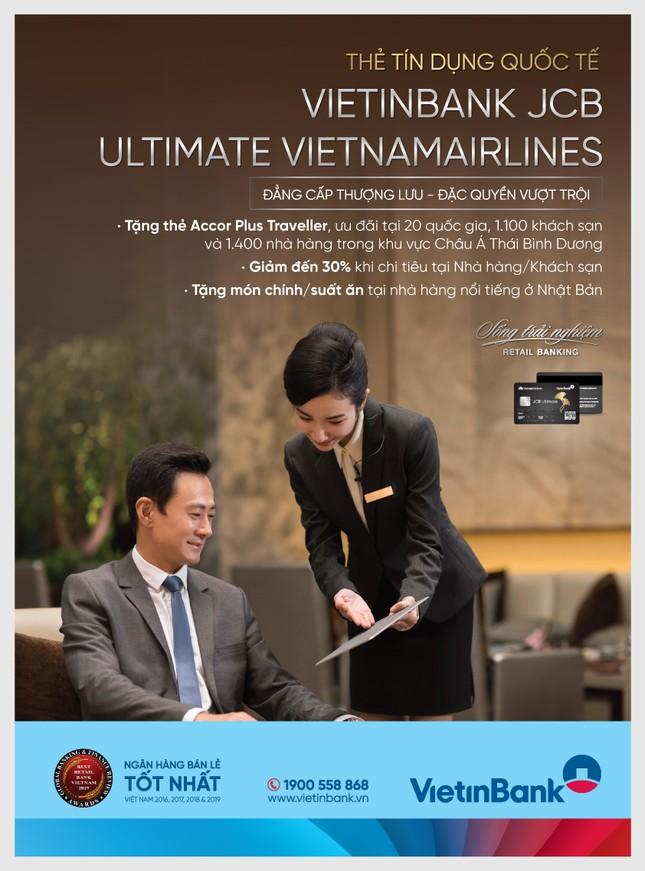 Tận hưởng ưu đãi nhà hàng/khách sạn hàng đầu thế giới cùng thẻ VietinBank Ultimate VNA ảnh 1