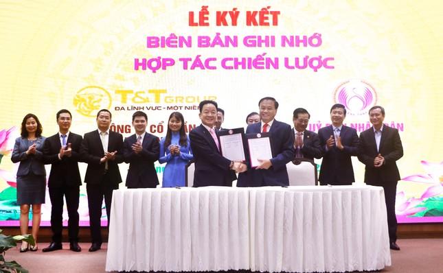Tập đoàn T&T Group hợp tác chiến lược toàn diện với tỉnh Đồng Tháp ảnh 1