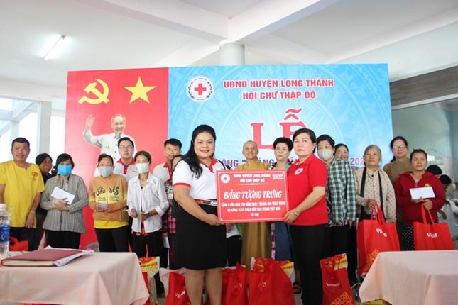 Vedan Việt Nam tặng 4 căn nhà và đồng hành cùng Hội Chữ thập đỏ huyện Long thành, Đồng Nai ảnh 1