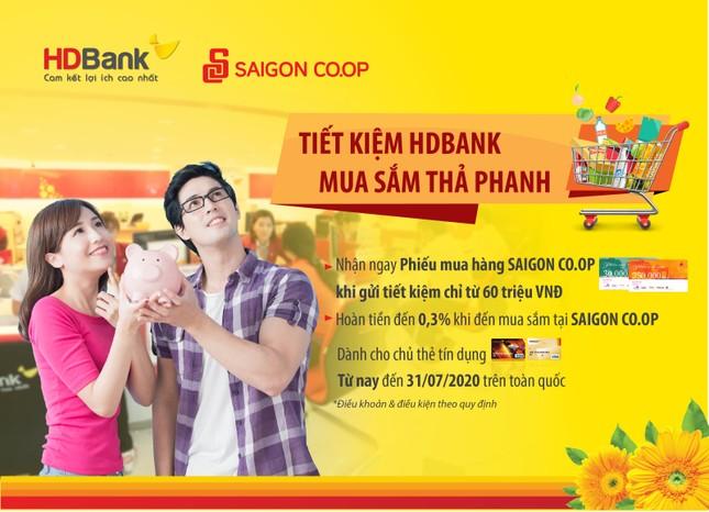 Tiết kiệm HDBank, mua sắm thả phanh ảnh 1