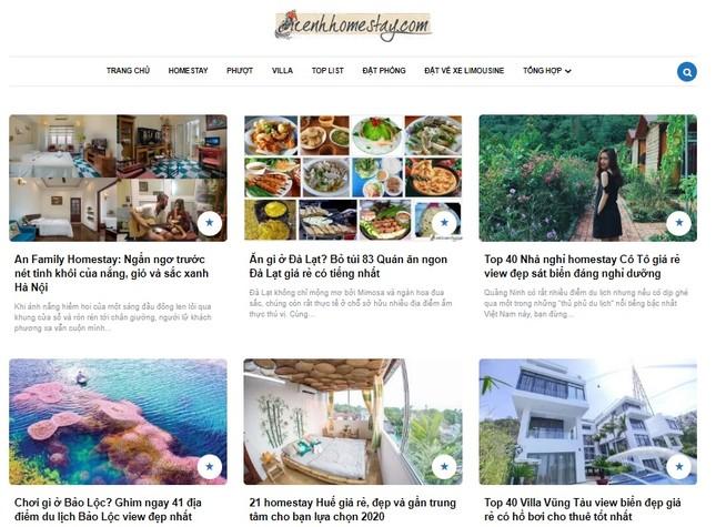 Website review homestay: giải pháp cho chủ host thu hút khách hàng ảnh 3