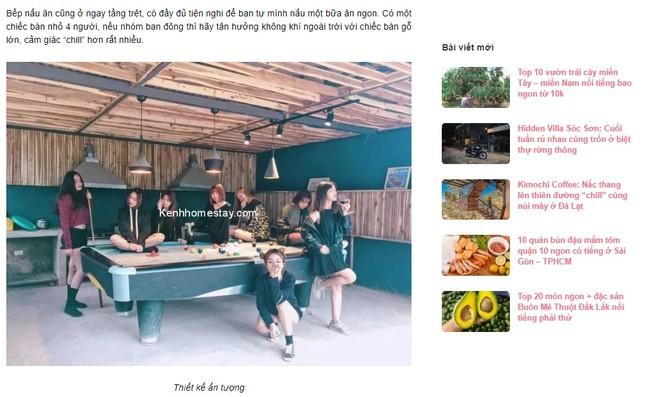Website review homestay: giải pháp cho chủ host thu hút khách hàng ảnh 5
