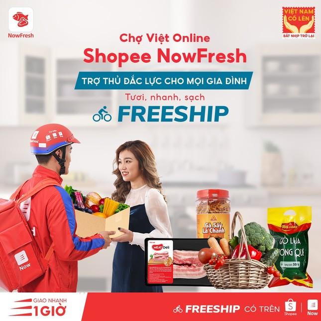 'ĐI CHỢ ONLINE' giải pháp mua sắm tiện lợi, tiết kiệm của bà nội trợ Việt hiện đại ảnh 5
