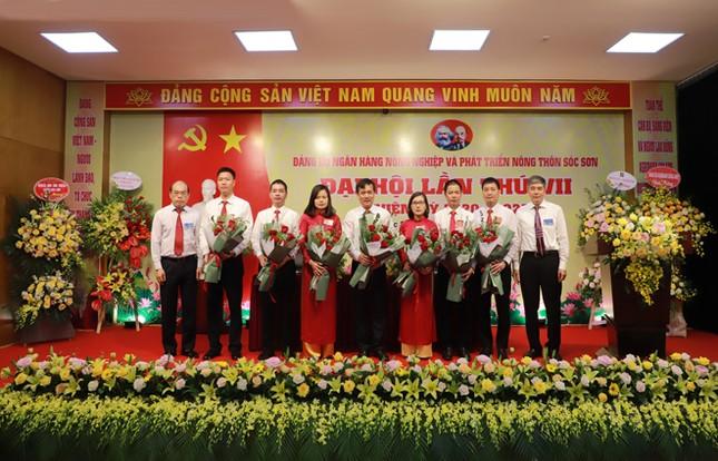 Đảng bộ Agribank Sóc Sơn tổ chức thành công đại hội ảnh 2