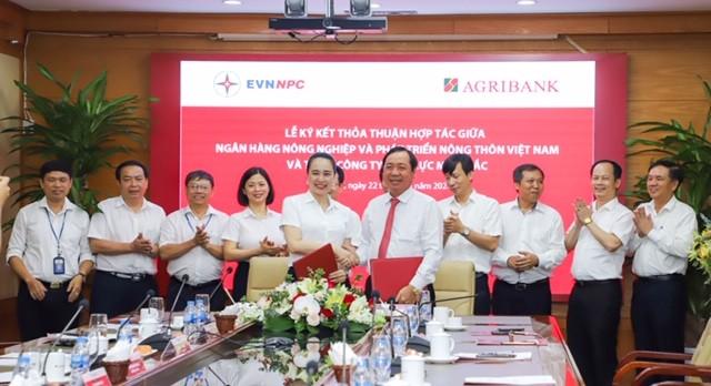 Agribank và Tổng Công ty Điện lực Miền Bắc – Nâng tầm hợp tác ảnh 2