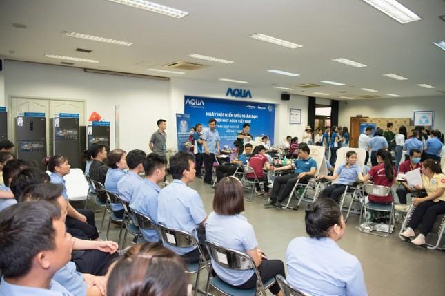 AQUA Việt Nam cùng Đỗ Mỹ Linh và Trần Tiểu Vy hiến máu vì cộng đồng ảnh 3
