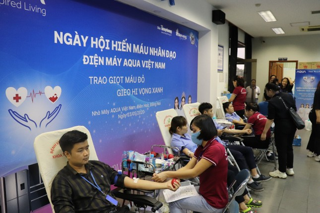 AQUA Việt Nam tổ chức thành công chương trình Hiến máu nhân đạo ảnh 2