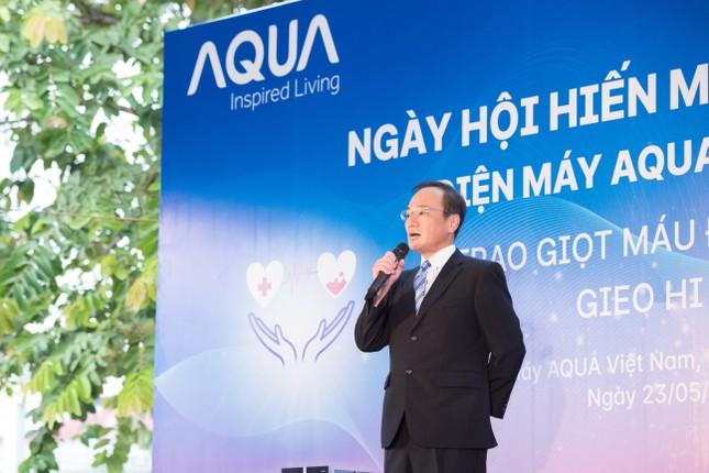 AQUA Việt Nam cùng Đỗ Mỹ Linh và Trần Tiểu Vy hiến máu vì cộng đồng ảnh 4
