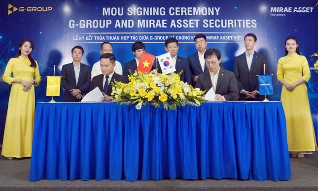 Tập đoàn G-Group ký kết hợp tác chiến lược với Công ty Chứng khoán Mirae Asset ảnh 1