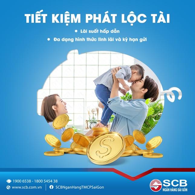 SCB triển khai sản phẩm mới 'tiết kiệm phát lộc tài' ảnh 1