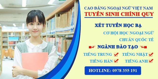 Đăng ký Học Cao đẳng Ngoại ngữ Việt Nam ở đâu? ảnh 2