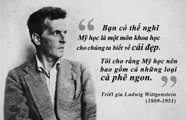 Kỳ 38: Triết gia Ludwig Wittgenstein và triết học thông qua thưởng lãm cà phê ảnh 1