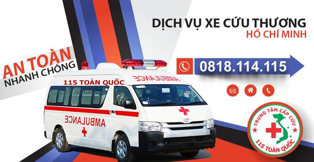 Ở đâu cần cứu thương, đội ngũ xe cấp cứu 115 toàn quốc luôn sẵn sàng ảnh 2