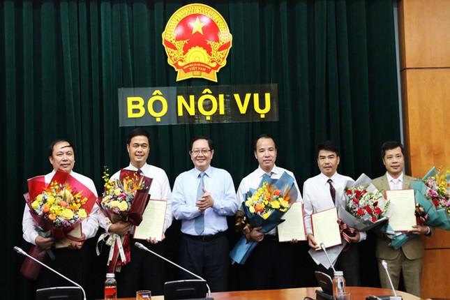 Bộ Nội vụ điều động, bổ nhiệm nhiều nhân sự mới ảnh 1