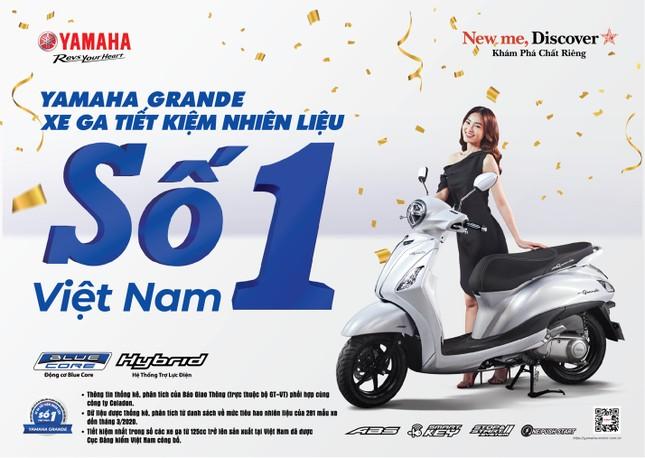 Blue Core - 'át chủ bài' tiết kiệm xăng của xe tay ga Yamaha ảnh 1