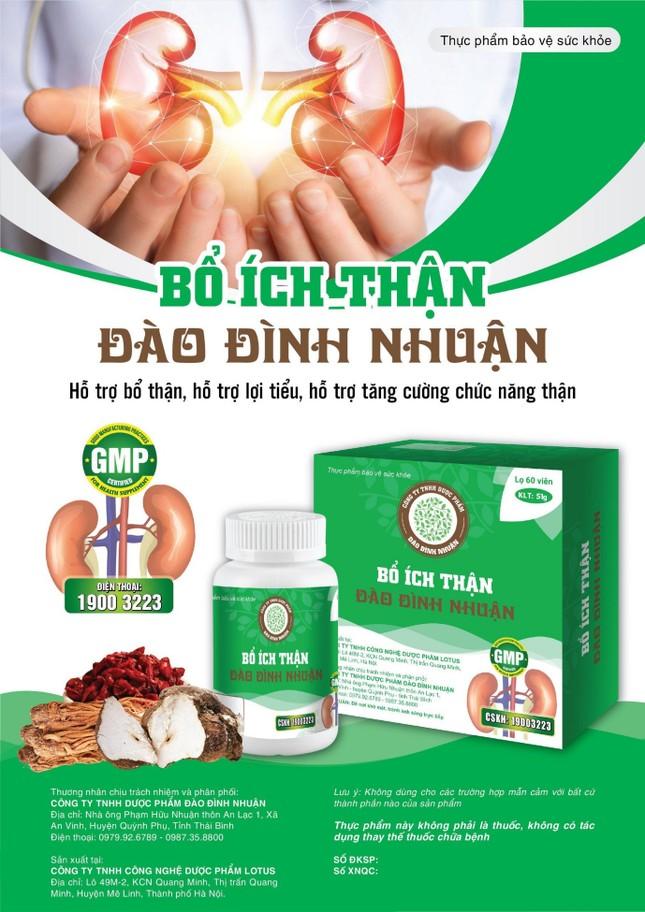 'Phao cứu sinh' cho bệnh nhân suy thận nhờ sản phẩm thảo dược của lương y Đào Đình Nhuận ảnh 3