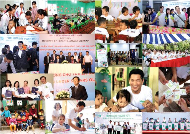 Amway Việt Nam phát hành báo cáo trách nhiệm xã hội lần 5 ảnh 1
