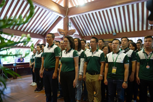 'Tuổi trẻ Vietcombank – Sắt son niềm tin với Đảng' hướng tới chào mừng Đại hội Đảng ảnh 3