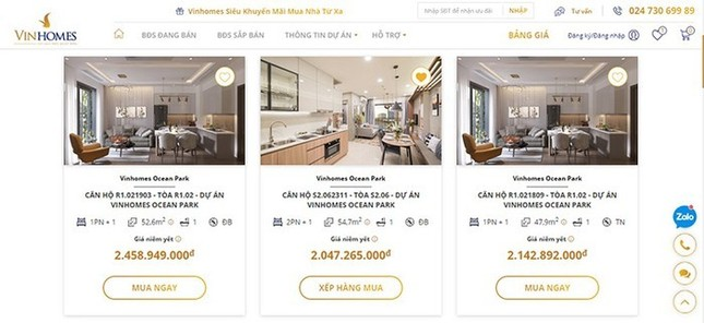 Mua nhà Online: bước ngoặt mới của thị trường bất động sản Việt Nam ảnh 2