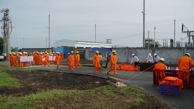 EVNSPC tổ chức diễn tập phòng chống thiên tai và cứu hộ cứu nạn năm 2020 ảnh 2