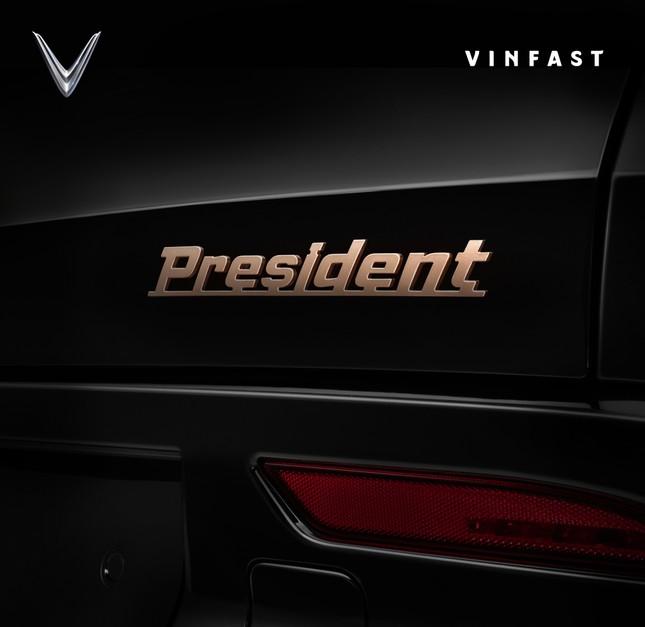 VinFast Lux V8 chuẩn bị ra mắt, tên chính thức là President ảnh 1